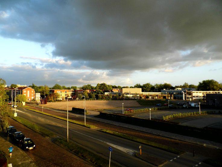 Donkere luchten in Leeuwarden, Friesland, The Netherlands