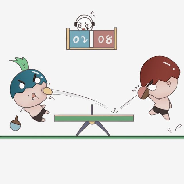 Work Out Play Table Tennis Sports Project Table Tennis Table Character Cartoon Hand Drawn Style Game Png Transparent Clipart Image And Psd File For Free Down Table Tennis Table Tennis Bats