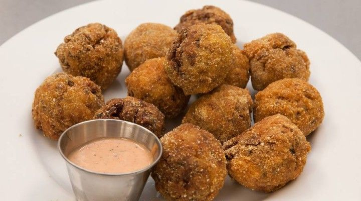 Red Beans and Rice Boudin Balls with Dipping Sauce | Recipe | Sauces ...