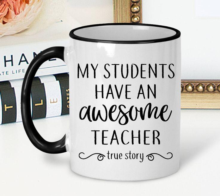 Personalized Teacher Mug | Christmas Gift for Teacher | Mug for Teacher | New Teacher Gift | Teacher Mug | Teacher Coffee Mug | Custom Mugs by 3CStylesandPrints on Etsy