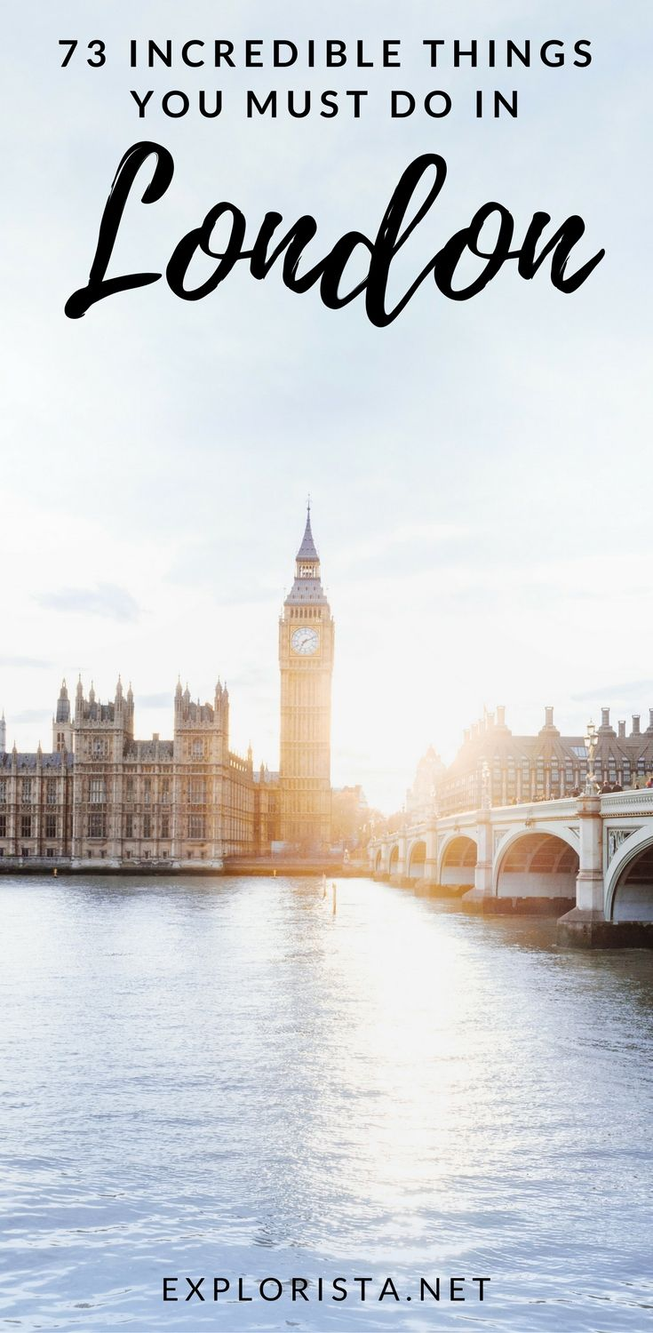 Traveling to England soon? Here's my extensive bucket list on all the things to do in London! Complete with tips, guides, and more!