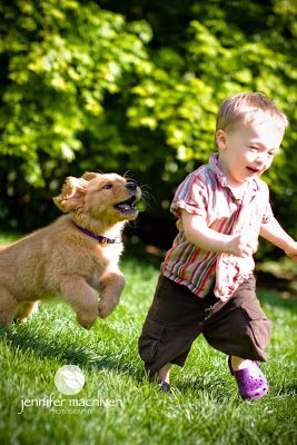 Best friends play together    | kids with pets | | pets | | kids |  #pets https://biopop.com/