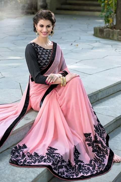 Beautiful #Saree @http://www.maalpani.com/latest-arrivals.html
