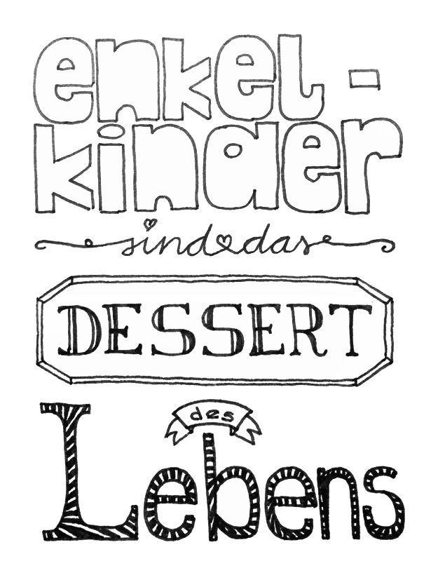 """Brief Von Opa An Enkel : """"enkelkinder sind das dessert des lebens sagte einmal"""