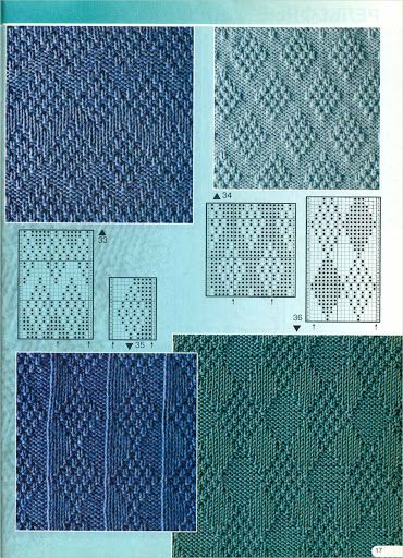 Узоры спицами, knit, knitting - Tatiana Alexeeva - Webové albumy programu Picasa