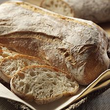 Rustic Italian Ciabatta: I think we will try this for our New Years dinner!