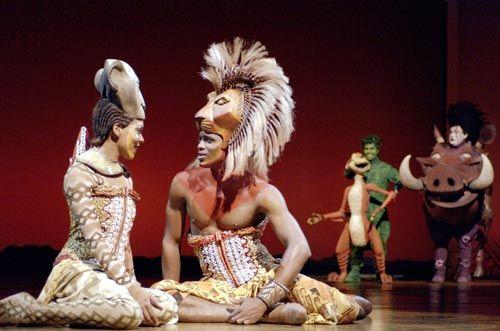 The Lion King, el musical, personajes, Simba y Nala, Broadway, New York.