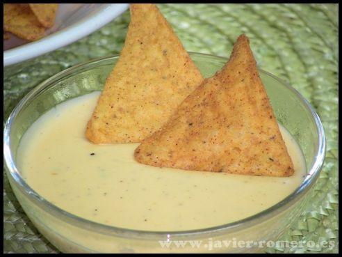 Salsa de queso para nachos, receta casera Publicado 11 octubre, 2013   Por Javier Romero