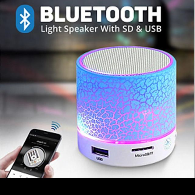 LED Portable Mini Bluetooth Speakers Wireless Hands Free Speaker With TF USB FM Mic Blutooth Music For Mobile Phone iPhone 6 7 s //Price: $13.76      #sale