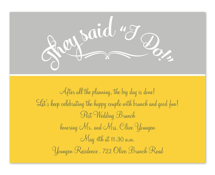 Day After Wedding Brunch Invitation: 13 Best Day After Wedding Brunch Images On Pinterest