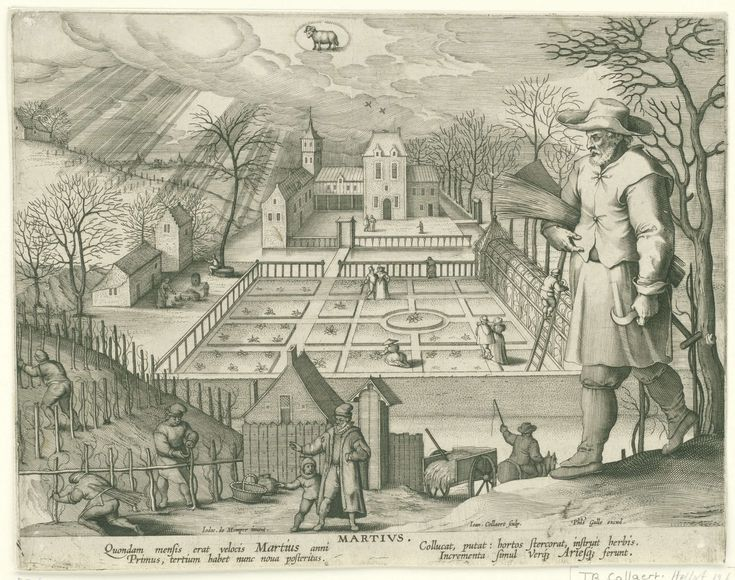 Martius - Jan Collaert (II), Cornelis Kiliaan, Philips Galle, 1586 - 1618