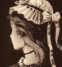 Você vê nesse desenho uma jovem mulher ou uma mulher idosa um tanto assustadora?