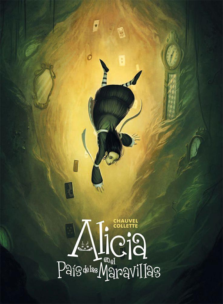 Alicia en el pais de las maravillas. #Cover #Portada #Literatura
