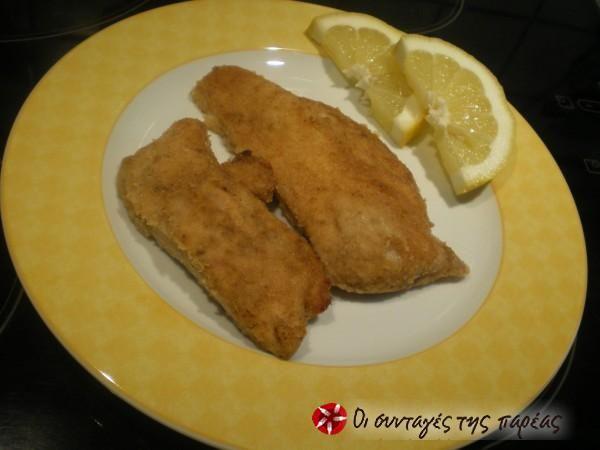 Σνίτσελ κοτόπουλο (διαίτης) #sintagespareas