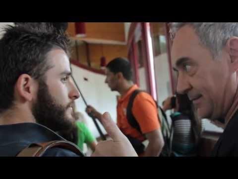 UN DIA CON FERRAN ADRIA & JUAN MANUEL BARRIENTOS EN COLOMBIA - YouTube