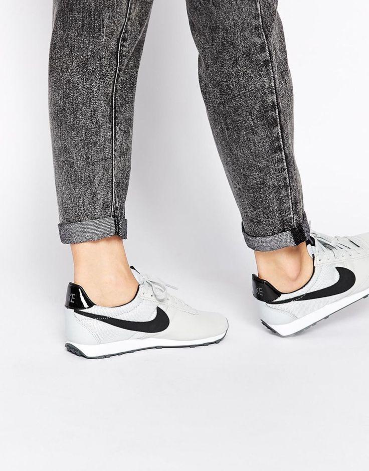 Nike Pre Montreal Black & Grey Trainers