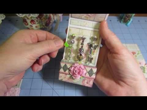 Match Book Style Stick Pin Holders Tutorial - YouTube