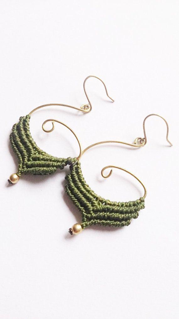 Macrame EarringsMacrame jewelryBoho jewelryYoga by PositivaJewelry