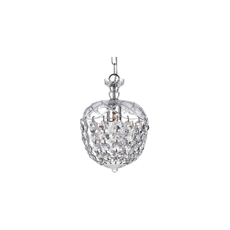 Warehouse Of Tiffany Ceiling Lights - Silver (11 X 11 X 7)