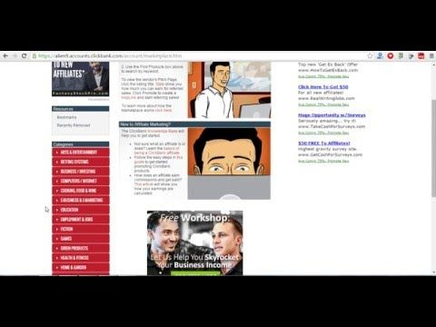 How To Make Money with Clickbank and Free Classified Ads