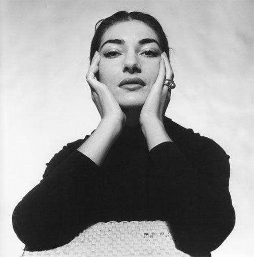 Cecil Beaton - Opera singer Maria Callas