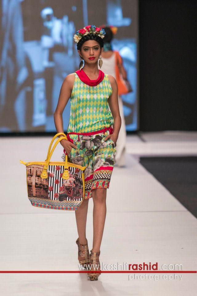 Deepak Perwani: Frida Kahlo Collection, Fashion Pakistan Week 5 , 2013.