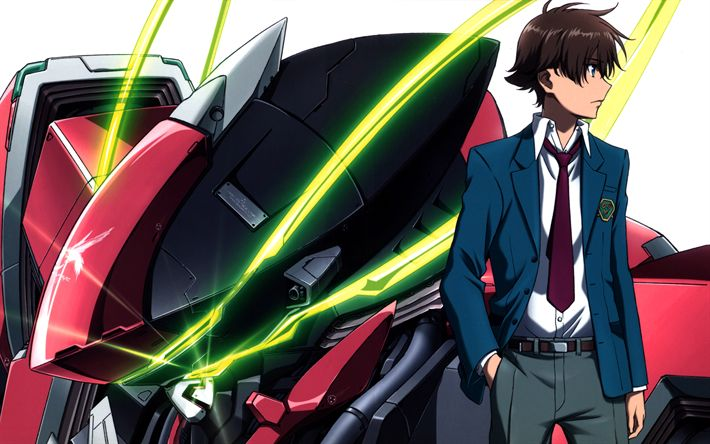 Download imagens Haruto Tokishima, manga, personagens de anime, Kakumeiki Valvrave