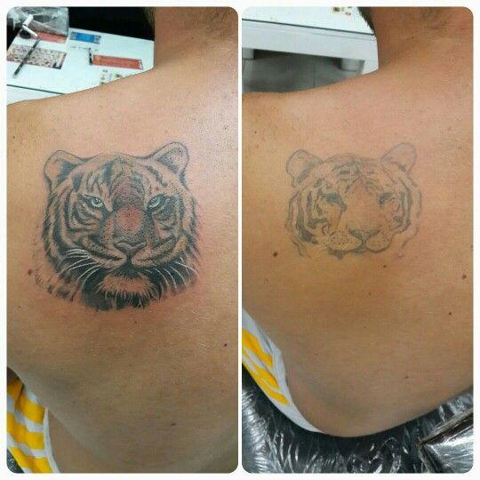 Restoration tattoo, fiximg tattoo, dövme yenileme, kaplan dövmesi, tiger tattoo, bodrum tattoo, bodrum dövme, ali baba tattoo