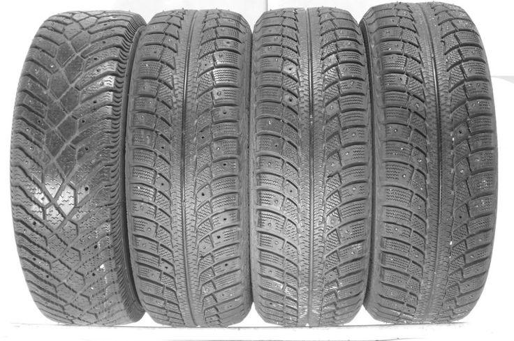 4 195 65 15 Gislaved Fulda 1956515 Winter Used Part Worn Tyres Metal Studded  **** 01392 20 30 51 *********