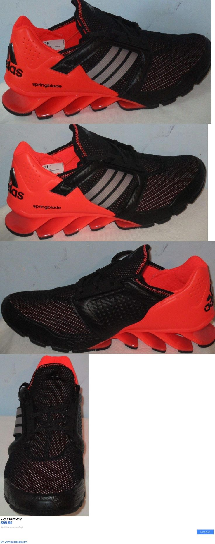 Men Shoes: Adidas Springblade E-Force Athletic Sneakers Running Black Men Shoes Size 9 BUY IT NOW ONLY: $99.99 #priceabateMenShoes OR #priceabate
