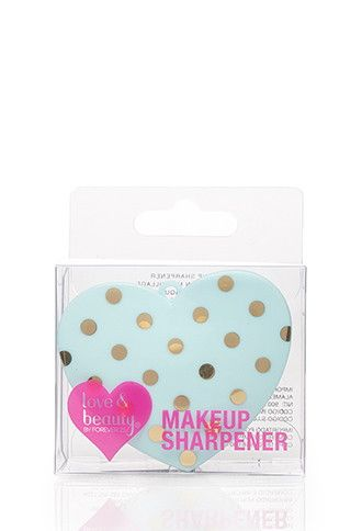 Heart-Shaped Makeup Sharpener | Forever 21 - 1049258634