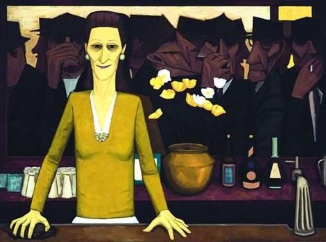 John Brack - The Bar- NGV (MEL 12-13)