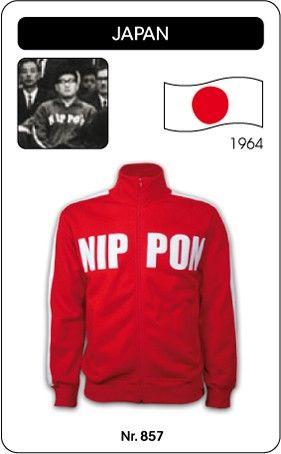 Japan voetbal jack 1964 Nippon retro voetbal truitje football soccer vintage sport COPA