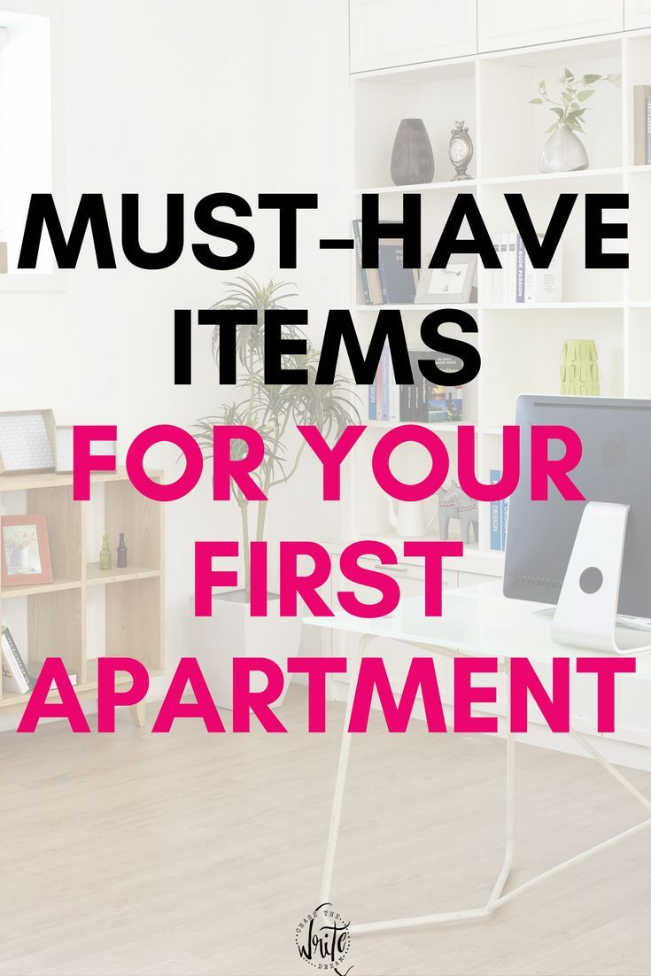 Must Have Items For Your First Apartment First Apartment First