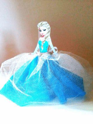 Tubete Frozen (Elsa)