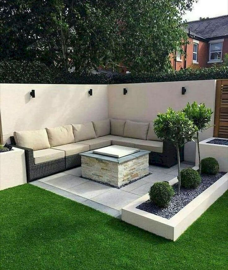 25 Creative Sunken Sitting Areas For a Mesmerizing Backyard Landscape (4