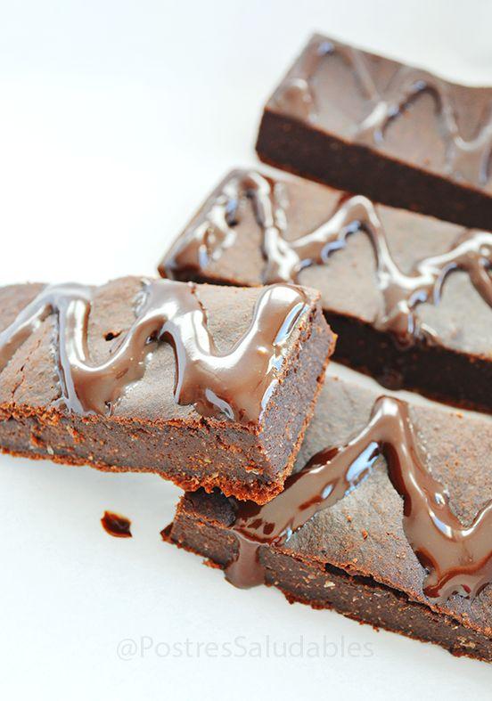Postres Saludables | Brownie: Barritas energeticas saludables | http://www.postressaludables.com