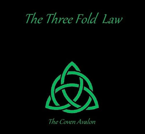 "Aside from the Wiccan Rede, the other ""Law"" of Witchcraft is the ""THREE-FOLD LAW OF RETURN"". Basically, this is the natural law of ""cause and effect"". The Goddess charges us to exercise great care in all that we, as Witches, do and say and even think. The Threefold Law takes the notion that ""what we reap, we will sow"", a few steps further..in fact, THREE steps further. For what we do ""for good or for ill, shall be returned to us threefold."