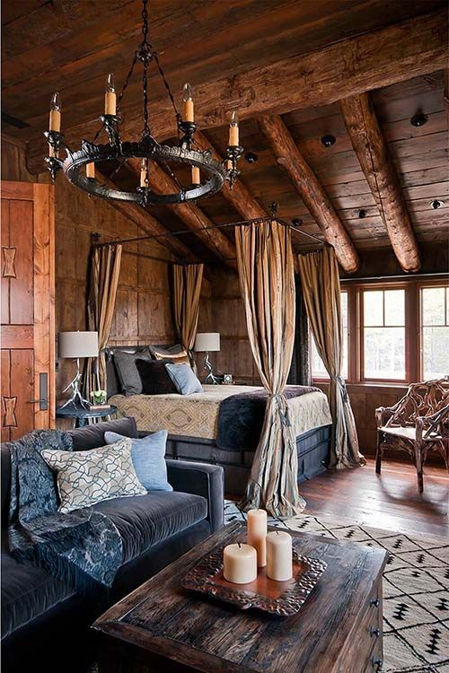 master bedroom - Pearson Design -Alpine_Dancing-Hearts