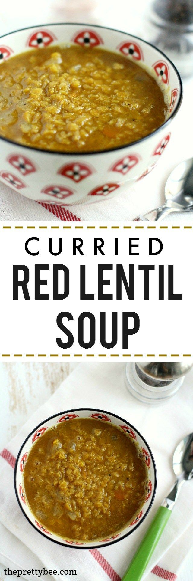 ... Curried Lentil Soup on Pinterest | Lentil Soup, Lentils and Soups