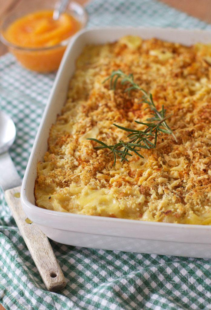 Creamy Pumpkin Mac and Cheese