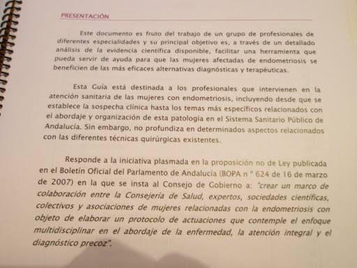 GUIA DE ATENCION A MUJERES CON ENDOMETRIOSIS EN EL SNS - ASOCIACION ESTATAL DE AFECTADAS ENDOMETRIOSIS (ADAEC)