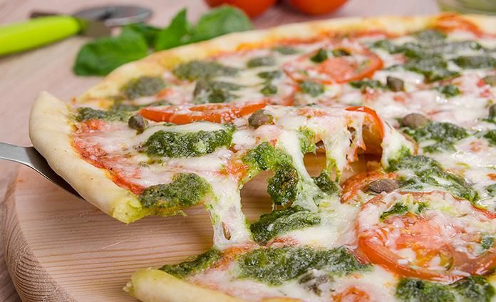 Пицца песто - пошаговый рецепт с фото