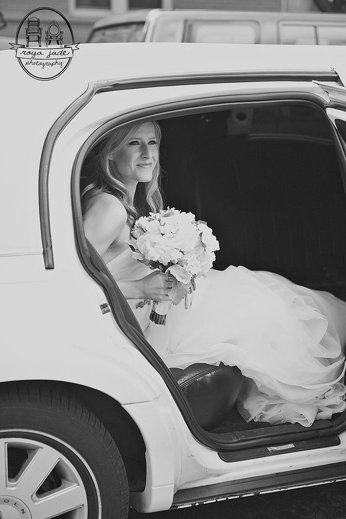 Limo. Wedding.