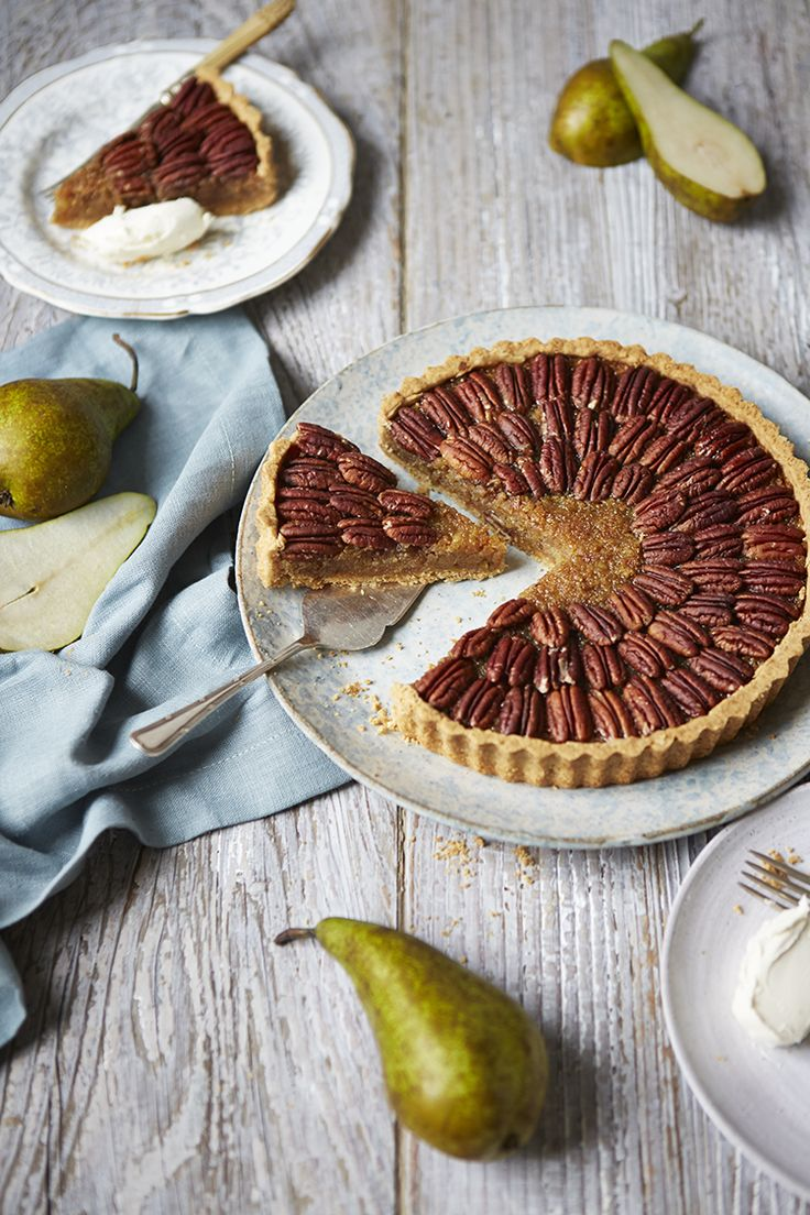 Foodie Friday - Pear and Pecan Treacle Tart Recipe - Party Pieces Blog ...