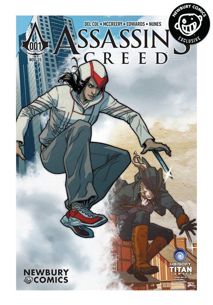 TITAN COMICS Assassin's Creed #1 - Elena Casagrande Exclusive Cover