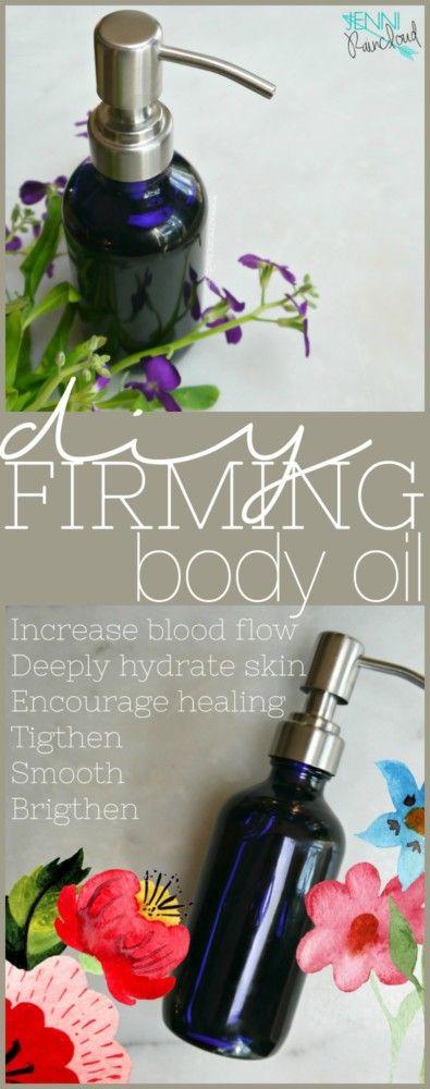 DIY Firming Body Oil with Pumpkin Seed Oil, Rosehip & Argan Oil