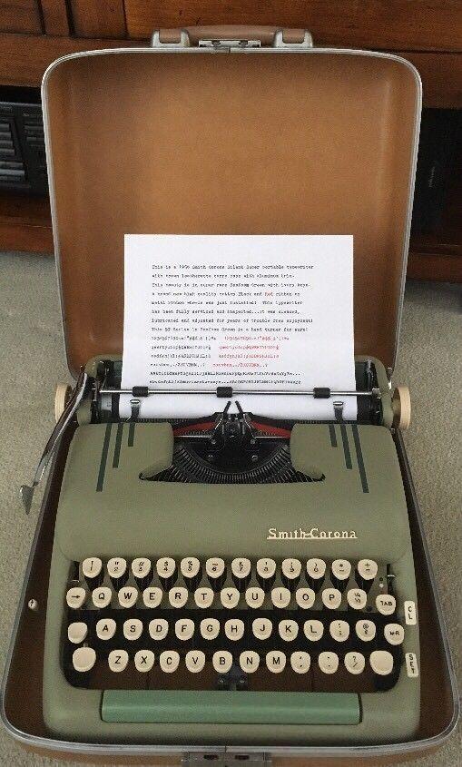 Merchandise & Memorabilia 1956 Royal Electric Typewriter Olive Green Vtg Ad Advertising-print