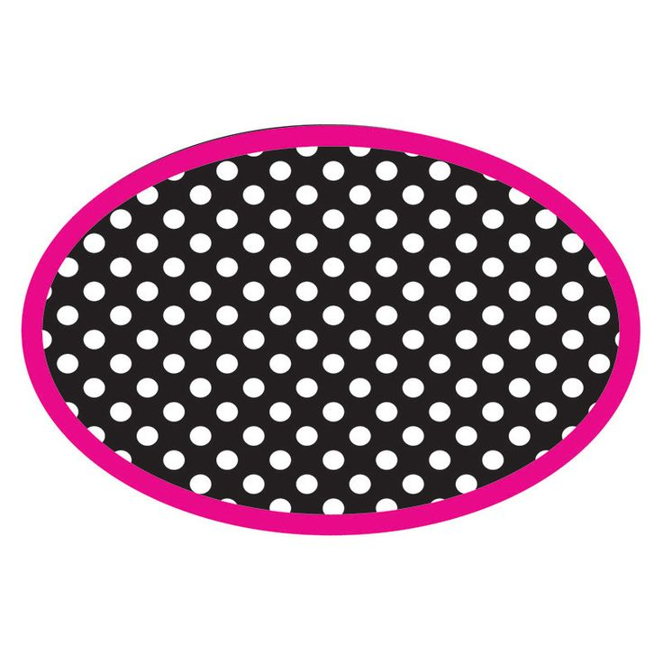 MAGNETIC WHITEBOARD ERASER BW DOTS