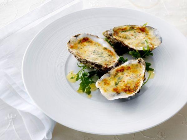 Gegratineerde oesters - Libelle Lekker!